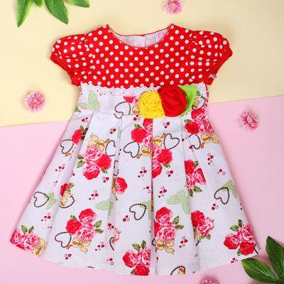 """Платье для девочки """"Бабочка в цветах"""", рост 74-80 см (1 год)"""