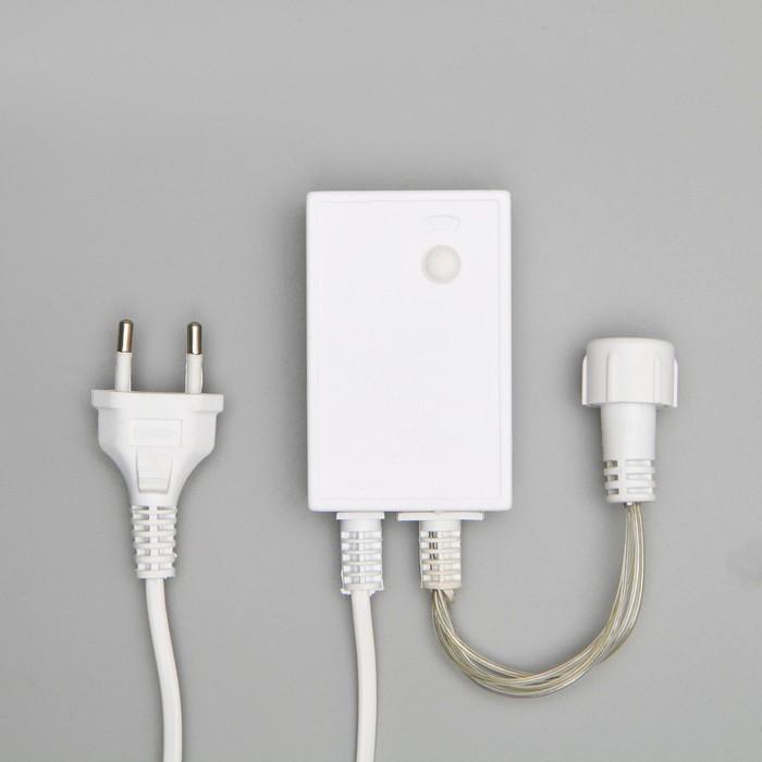 """Контроллер для гирлянд УМС """"Водопад"""", до 4000 LED, 220 В, Н.Б. 5W, 8 режимов, 65 см"""