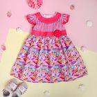 """Платье для девочки """"Лёгкое пёрышко"""", рост 80-86 см (1,5 года), цвет розовый"""
