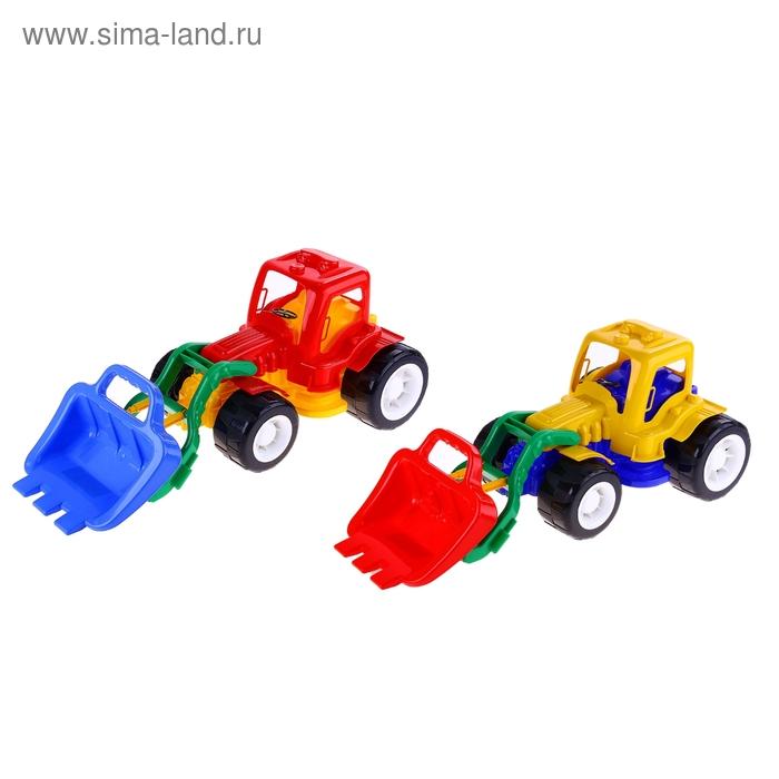 """Трактор """"Гигант"""" с ковшом"""