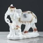 """Сувенир """"Семья слонов"""" 26 см, белый - фото 1701196"""