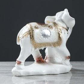 """Сувенир """"Семья слонов"""" 26 см, белый - фото 1701199"""