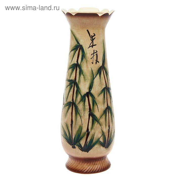 """Ваза напольная форма """"Мэри"""" бамбук"""