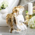 """Статуэтка """"Пара ангелов"""" 27 см, белая - фото 1700096"""