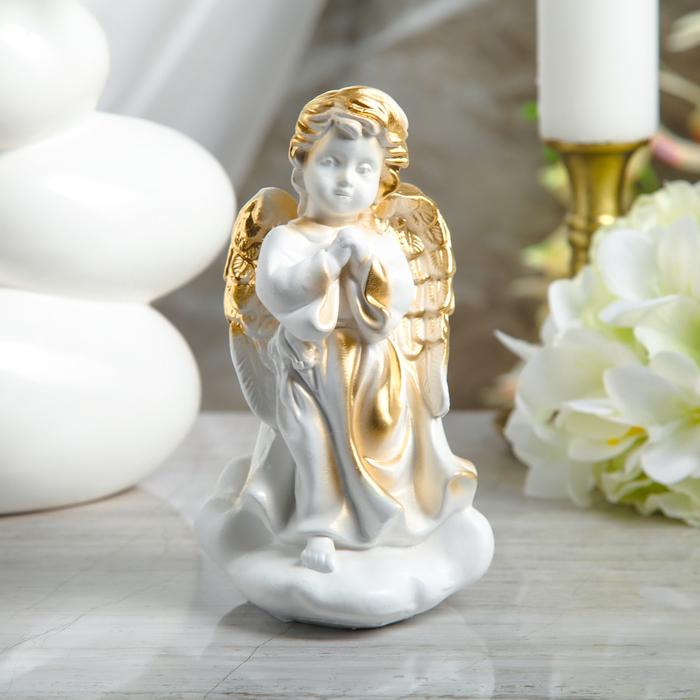 """Статуэтка """"Молящийся ангел на облаке"""" 20 см"""