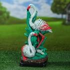 """Садовая фигура """"Семья фламинго"""", разноцветный, 34 см"""