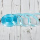 Лента атласная, 12 мм, 33±2м, №129, цвет голубой