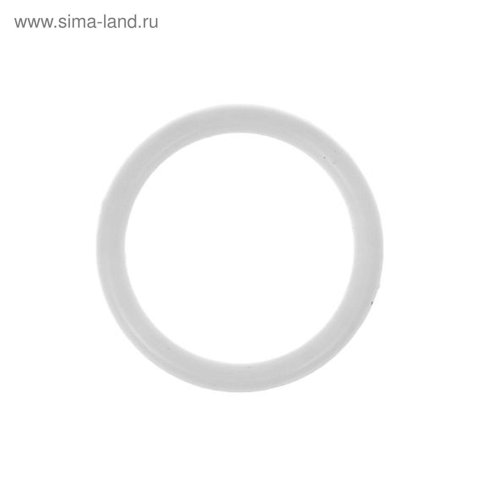 кольца для вязания Rkr 38 D38 мм набор 8шт цвет белый 1183572