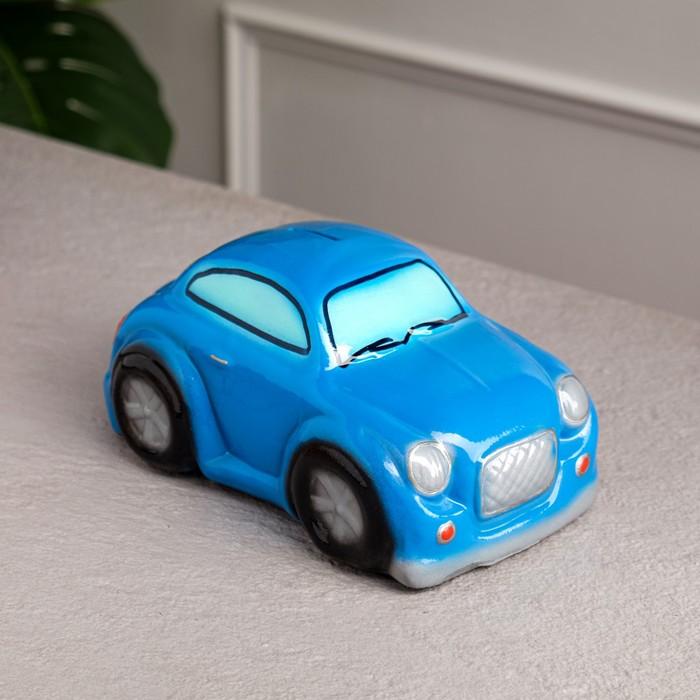 "Копилка ""Купер"", цвет синий, глянец, 10 см"