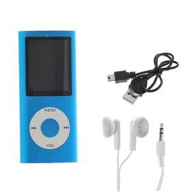 Mp3 плеер Perfeo Music I-Sonic, голубой Ош