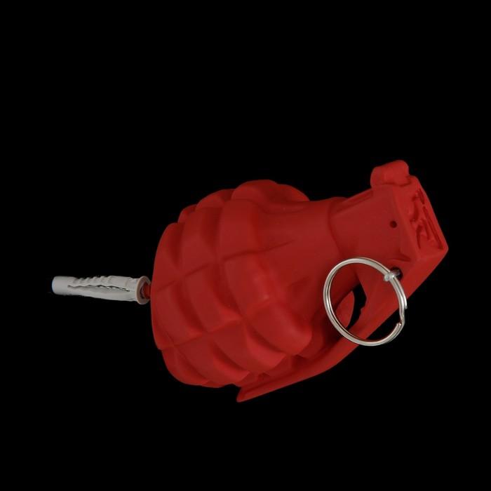 Вешалка-граната красная