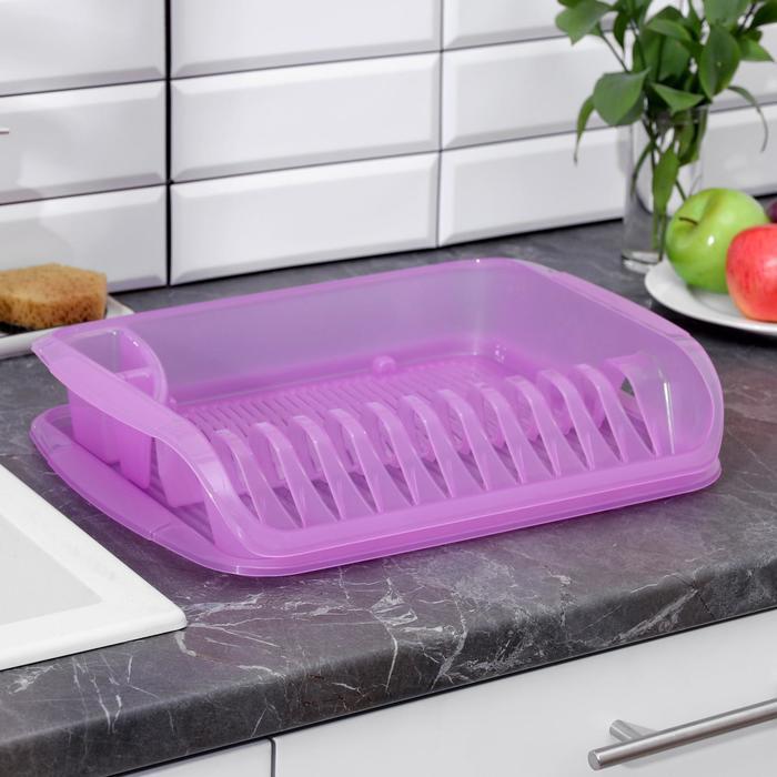 Сушилка для посуды, цвет МИКС