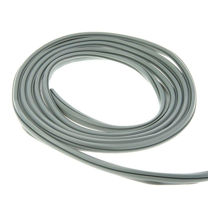 Уплотнитель универсальный для пластиковых окон, L=10 м, серый