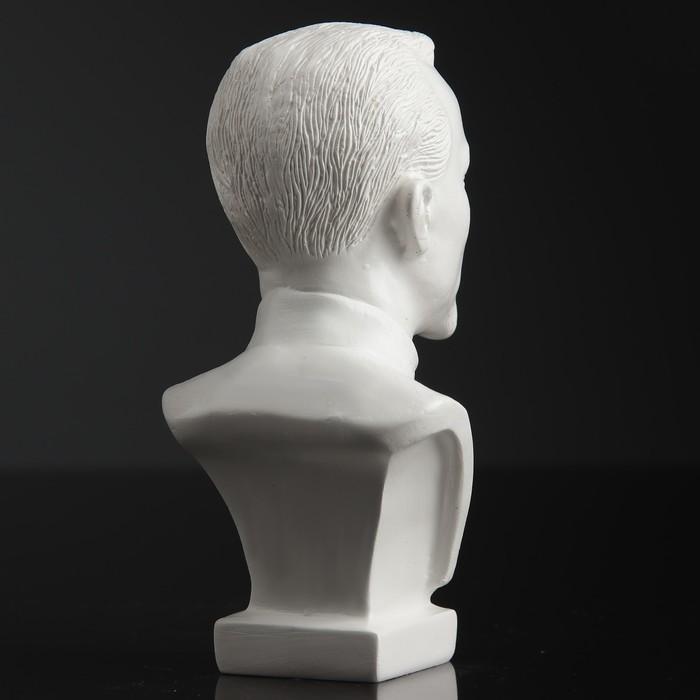 Бюст Дзержинский малый белый 12 см