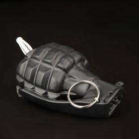 The grenade hanger is black.