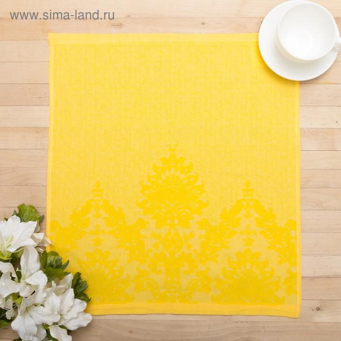 Салфетка Classico, размер 50х50см, жаккард, 100% хлопок, 190 гр/м2, цвет жёлтый