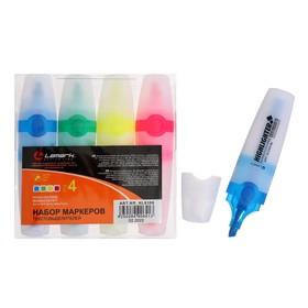 Набор маркеров текстовыделителей 4 цвета 5.0 Lamark HL0306