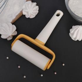 Roller for rolling dough 17 cm Vanilla