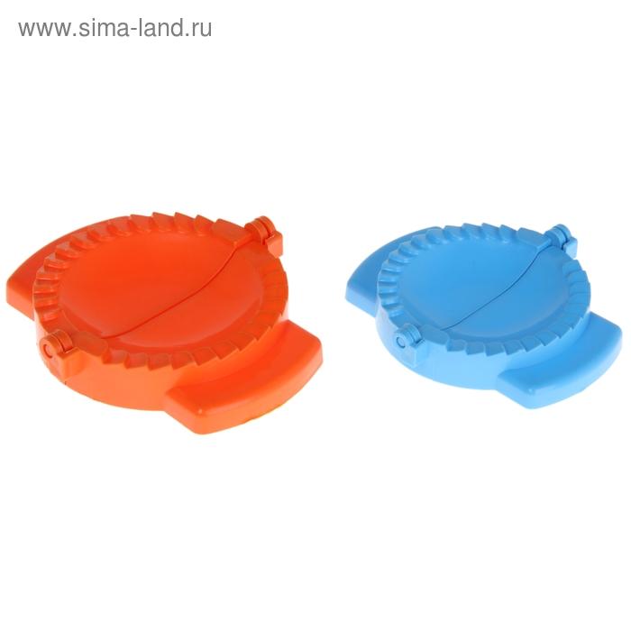 Набор для лепки пельменей 2 предмета (формы d 8/10 см), цвета МИКС