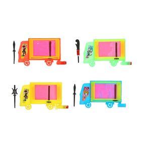 Мини - доска для рисования 'Машина', цвета МИКС Ош