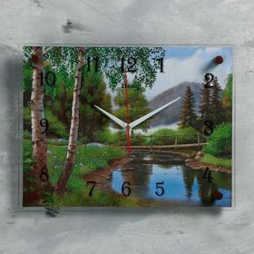Wall clock, series: Nature,