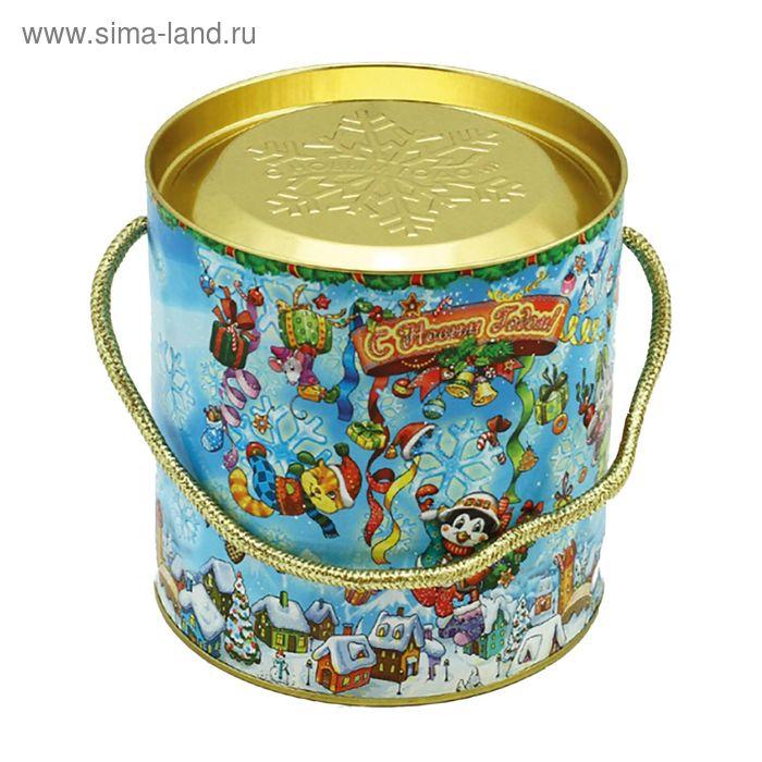 "Подарочная коробка, тубус ""Снежинка малая"" 12х12 см"