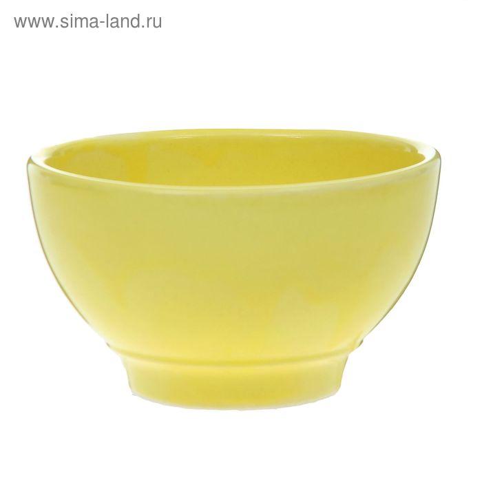 """Салатник 600 мл """"Кисэ"""", жёлтый"""