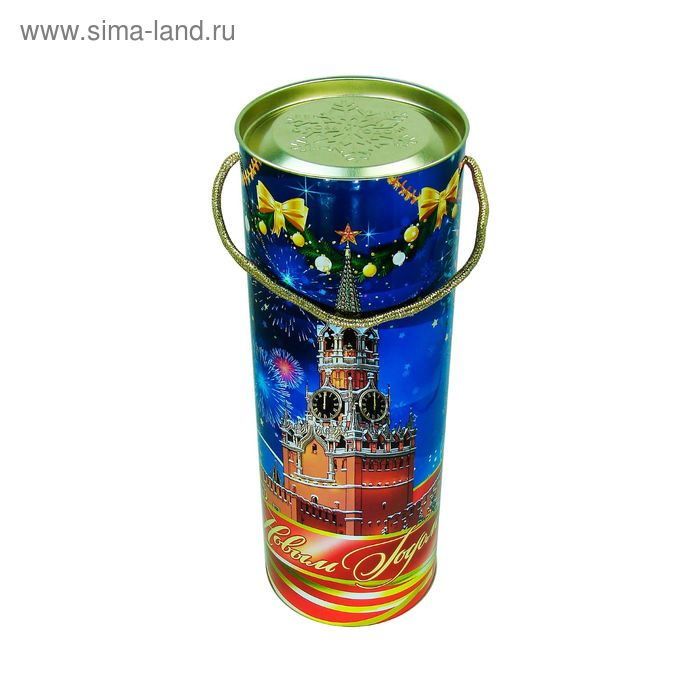 """Подарочная коробка, тубус """"Звездная"""" 9.2х34.5 см"""
