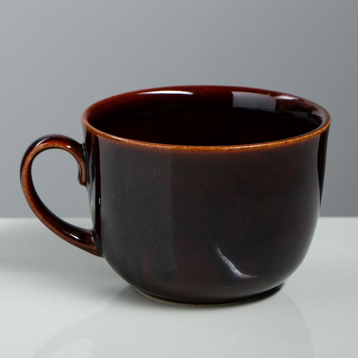 "Бульонница ""Аппетитка"" коричневая, 0,5 л"
