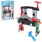 """The table """"the Young mechanic"""", with tools, 2 in 1, 36 items"""
