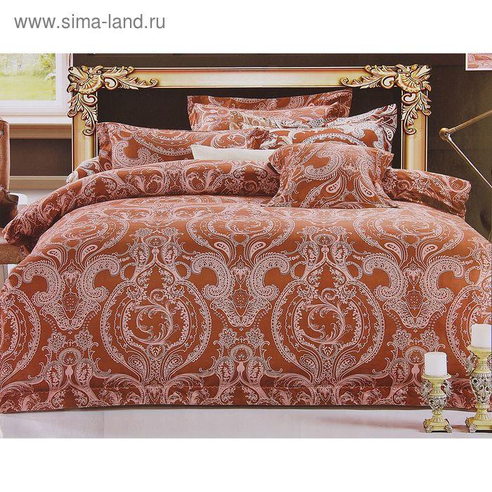 """Постельное бельё Этель Ажур """"Шоколадный сон"""" 1,5 сп., размер 150х210 см, 150х210 см, 50х70 +/- 3 см - 2 шт."""