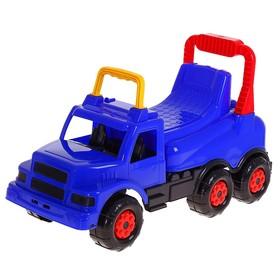 Толокар «Весёлые гонки», цвет синий