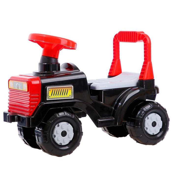 """Машинка детская """"Трактор"""", цвет чёрный"""