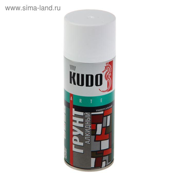 Грунт алкидный Kudo белый, 0,52л