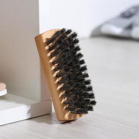 Brush Shoe 59 bundles natural hair color black