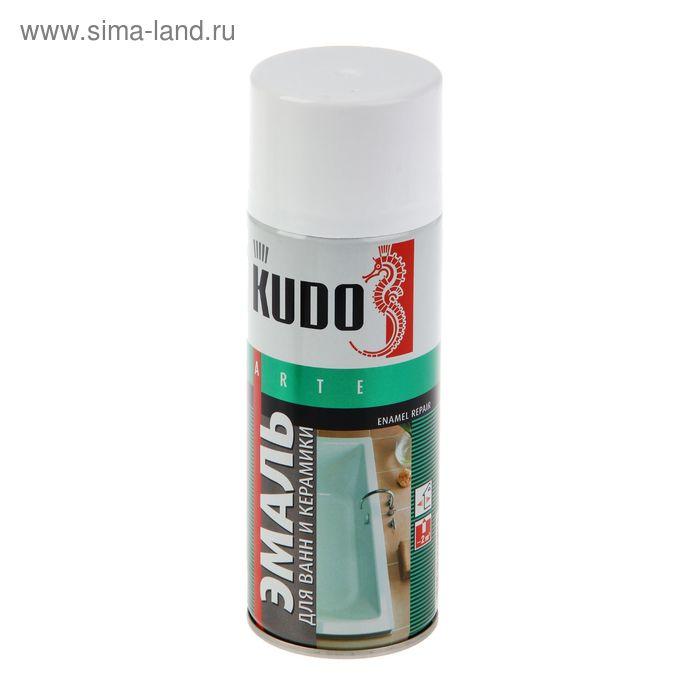 Эмаль для реставрации ванн и керамики Kudo белая, 0,52л