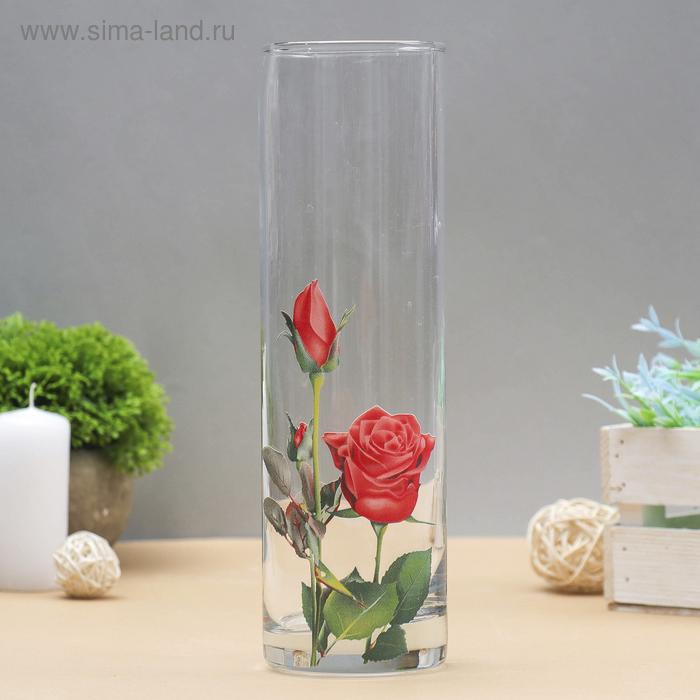 """Ваза """"Роза красная"""""""