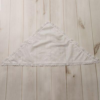 Косынка крестильная, рост 74-80 см, цвет белый 2024