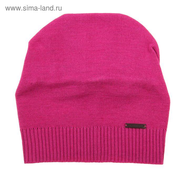 """Шапка женская """"КЕЙТ"""" демисезонная, размер 56, цвет розовый 303-075"""