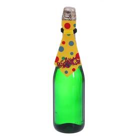 Одежда на бутылку 'Галстук в горох', цвета МИКС Ош