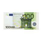 Наклейка 100 евро