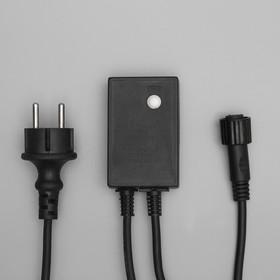 """Контроллер уличный для гирлянд УМС, """"КАУЧУК"""", до 3000 LED, Н.Т. 3W, 8 режимов"""