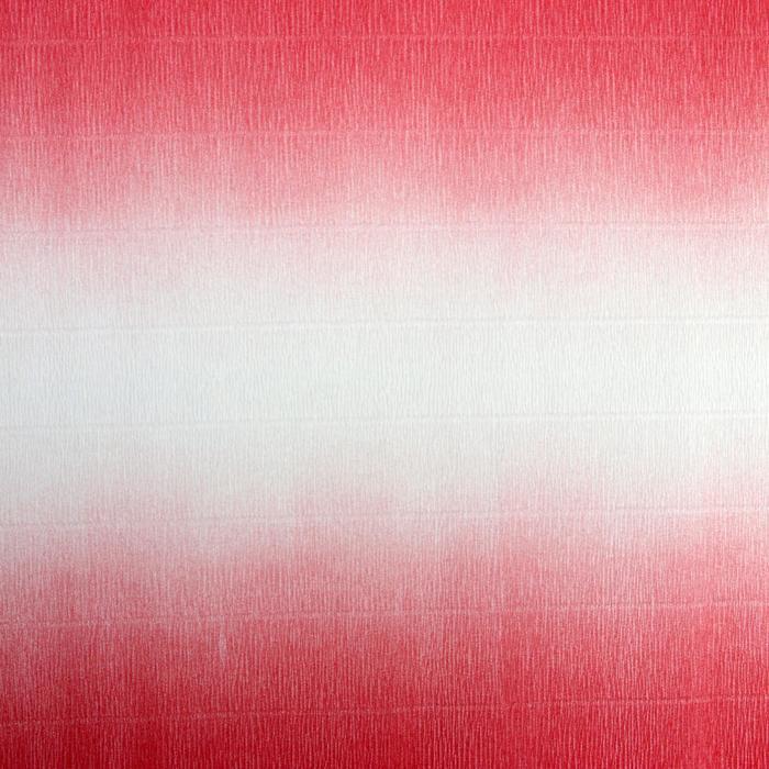 """Бумага гофрированная, 600/4 """"Бело-розовая"""", 0,5 х 2,5 м"""