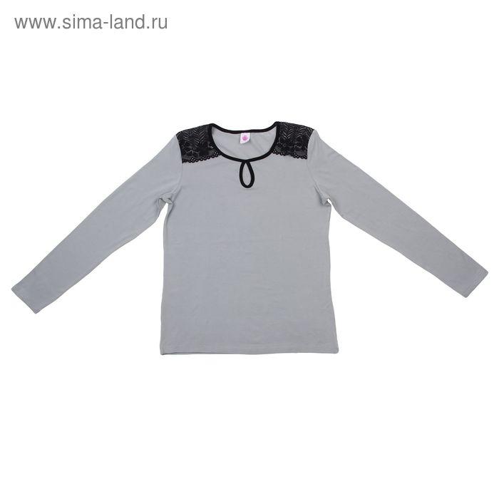 Джемпер женский, рост 158-164 см (46), цвет серый Р807176
