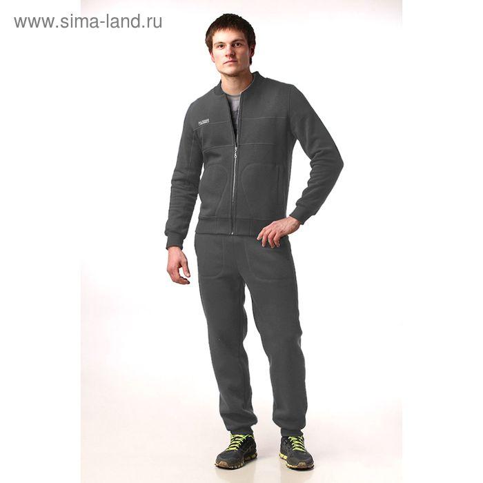 Костюм мужской (жакет, брюки) М-41-05 антрацит, р-р 48
