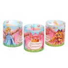 "A set of candle ""happy birthday, Princess!"", 3 PCs."