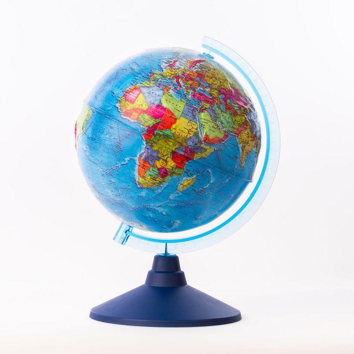 Глобус политический рельефный «Классик Евро», диаметр 210 мм