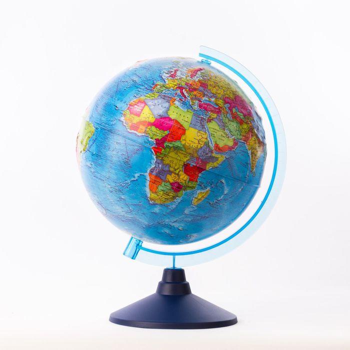 Глобус политический, рельефный «Классик Евро», диаметр 250 мм