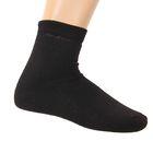 Носки мужские махровые, размер 27, цвет черный