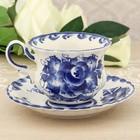 "Decorative vase ""Butterfly"" Gzhel"